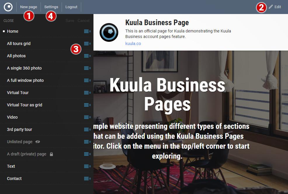Kuula | 360 Virtual Tours made easy  Create, edit, share